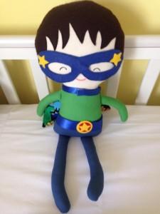 Comforter Rex superhero toy