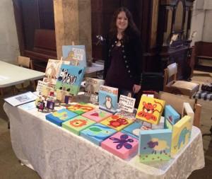 Ella art stall Christmas Market children's gift
