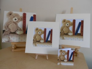 Ella Hendy, Ella art, teddy, old favourite, books, oil painting, print, cards, gift