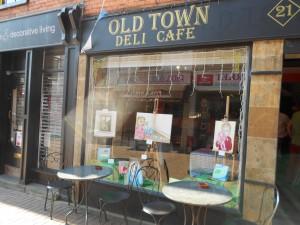 Old Town Deli & Cafe, Parsons Street, Banbury, Ella Hendy, Ella art, original art