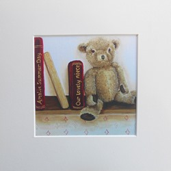 Ella Hendy, Ella art, Banbury, artist, teddy, bear, books, personalised, print