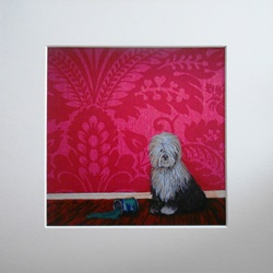 Ella Hendy, Ella art, Banbury, Oxfordshire, artist, art, gallery, prints, dog, paint