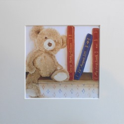 Ella Hendy, Ella art, Banbury, artist, personalised, teddy, print