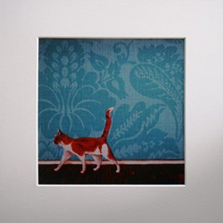 Ella Hendy, Ella art, Banbury, Oxfordshire, artist, art, cat, print, gallery