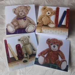 Ella art, Ella Hendy, Banbury, artist, teddy, books, cards